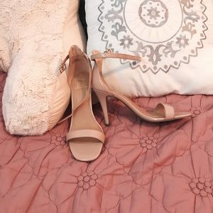 soft pink heels